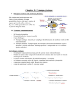 NOTES DE COURS: 3- Echange cytotique