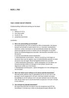 CASE: BMW1001 Leven in de Biosfeer - Onderwijsgroepen