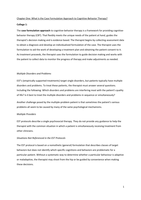 SAMENVATTING: Summary Behaviour Therapy and Cognitive Therapy