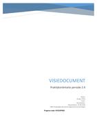 ESSAY: Visiedocument PO 2.2 / 2.4