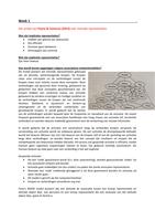SAMENVATTING: Gedrag 3 (G&O3): Cognitie, attitude en motivatie