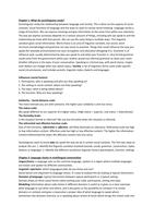 SUMMARY: Summary Introduction to Sociolinguistics