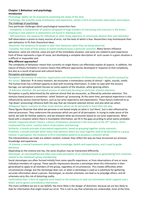 SAMENVATTING: Samenvatting approaches to psychology