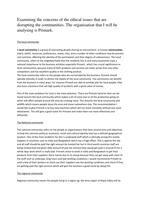 unit 37 p1 understanding business ethics Evaluate the impact of the business s ethical behaviour on its stakeholders and the business unit 37 d1 essay unit 37 unit 37 p1 p4 legal unit 37 unit 2 d1.
