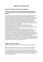 Prüfung: Supply Chain Management Lösung Altklausur 13 (unverbindlich)