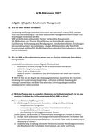 Prüfung: Supply Chain Management Lösung Altklausur 07 (unverbindlich)