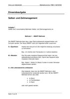 Prüfung: Einsendeaufgabe Zeit und Selbstmanagement