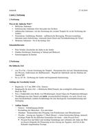 VORLESUNGSMITSCHRIFT: 1 und 2 Vorlesung - Rabbinisches Judentum