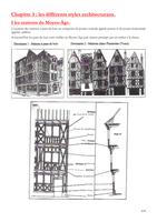 NOTES DE COURS: les différents styles architecturaux.