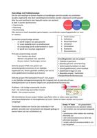 SUMMARY: Samenvatting Projectmanagement 1