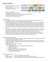 SUMMARY: Conjoint Analysis Samenvatting Sheets + Aantekeningen