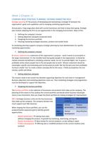 SUMMARY: Service Marketing summary