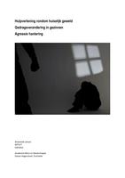Exam: Gedragsverandering in Gezinnen/ Agressiehantering/ Hulpverlening rondom huiselijk geweld