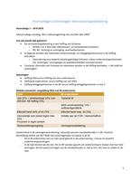 SUMMARY: Hoorcolleges Vennootschapsbelasting