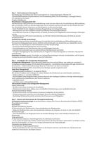 ZUSAMMENFASSUNG: Unternehmensführung & Organisation komprimierte Lernzusammenfassung