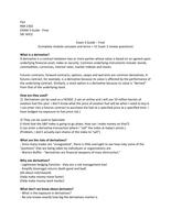 Exam: RMI 2302 DR. NYCE FINAL EXAM REVIEW
