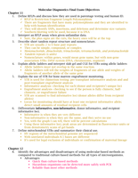 LECTURE NOTES: Molecular Diagnostics Final Exam Study Guide