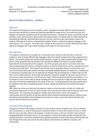 Svar: Bacteria Data Analysis version 10