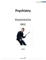ZUSAMMENFASSUNG: Psychiatry USMLE