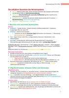 ZUSAMMENFASSUNG: Neuroanatomie