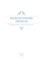 SAMENVATTING: Micro-Economie Bruno Heyndels 2016-2017 Micro II