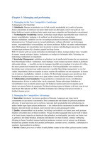 SAMENVATTING: Samenvatting Management leading & collaborating in a competitive world