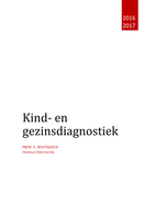 SUMMARY: Samenvatting Kind- en Gezinsdiagnostiek