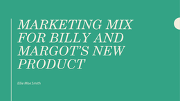 develop a coherent markting mix for In this article, we will look at 1) the four p's, 2) history of the marketing mix concept and terminology, 3) purpose of the marketing mix, 4) key features of the marketing mix, 5) developing a marketing mix, 6) key challenges, and 7) marketing mix example – nivea.
