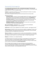 SAMENVATTING: Samenvatting Casemanagement H.1 t/m 11