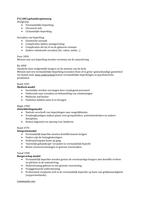 OTHER: College   aantekeningen gehandicaptenzorg P12