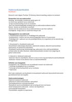 SUMMARY: Samenvatting inleiding onderzoeksmethodiek