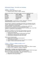 SUMMARY: Uitwerking collegeslides met aantekeningen - Information Design
