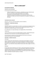 SUMMARY: Onderzoek p2 H.1 tm 7 + 10 + 11