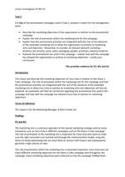 ESSAY: Unit 9 - Creative Product Promotion - P2 M1 D1