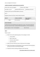 ESSAY: Unit 9 - Creative Product Promotion - P3 P4 M2 D2