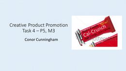 PRESENTATION: Unit 9 - Creative Product Promotion - P5 M3