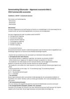 SAMENVATTING: Samenvatting Edumundo - Algemene economie & Consumentengedrag M&S Herkansing 24 februari
