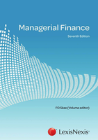 OTHER: Managerial Finance, Seventh Edition