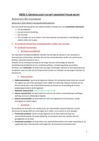 SAMENVATTING: Grondwettelijk recht