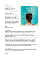 SAMENVATTING: Girl in Translation