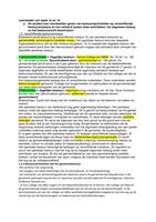SUMMARY: Bestuursrecht leerdoelen P3