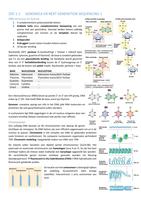 SUMMARY: Samenvatting Moleculaire genetica en epigenetica 2e bach BMW UHasselt