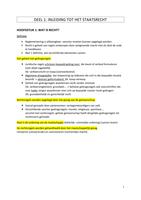 SUMMARY: samenvatting Algemeen Recht 15/20