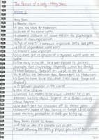 LECTURE NOTES: The Portrait of a Lady