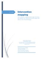 SUMMARY: Verpleegkunde IT3 Blok 2A Intervention Mapping: Groepsgedeelte (geen stap 4)