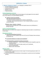SAMENVATTING: Hfdst 6 deel 1 mantelzorg