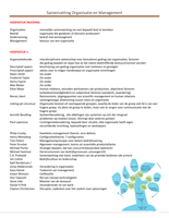 SUMMARY: Samenvatting boek: Een praktijkgerichte benadering van organisatie en management door Marcus en van Dam