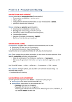 SAMENVATTING: Complete samenvatting blok 1.5 ontwikkelingspsychologie