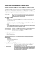 SUMMARY: Strategic Human Resource Management - A balanced approach - Paul Boselie
