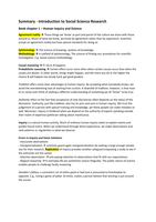 SAMENVATTING: CM1002 Introduction to Social Science Research book + lectures